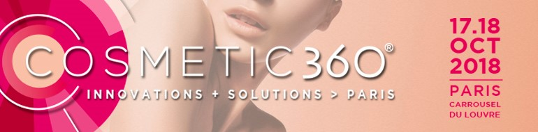 Exhibition at COSMETIC 360 2018 in Paris with ADWATIS SA